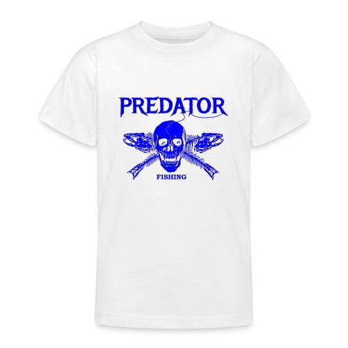 Predator fishing blue - Teenager T-Shirt