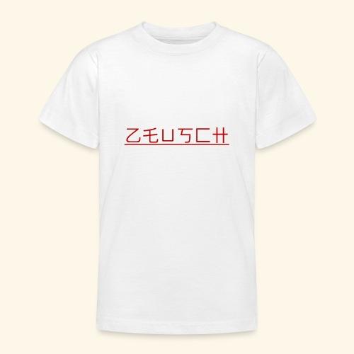 Zeusch Logo - Teenager T-shirt