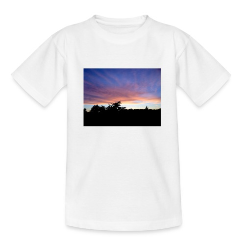 Sunset - Teenager-T-shirt