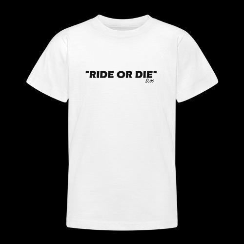 Ride or die (noir) - T-shirt Ado