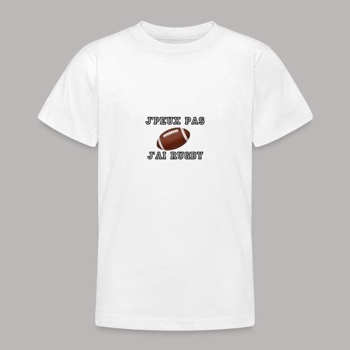 rugby - T-shirt Ado
