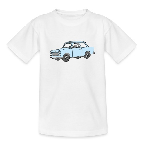 Hellblauer Trabi, Trabant - Teenager T-Shirt