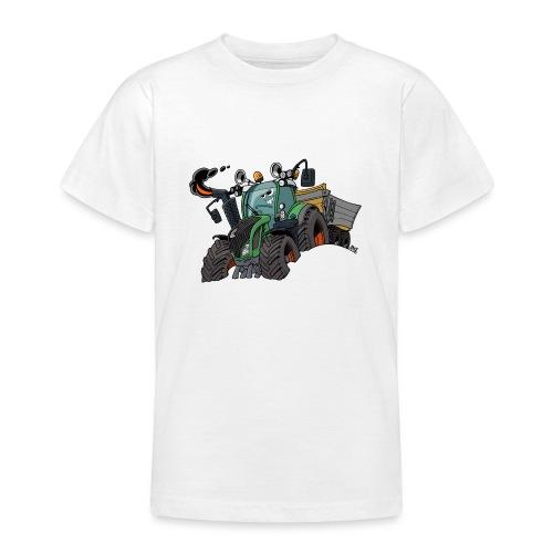 F 718Vario met kar - Teenager T-shirt