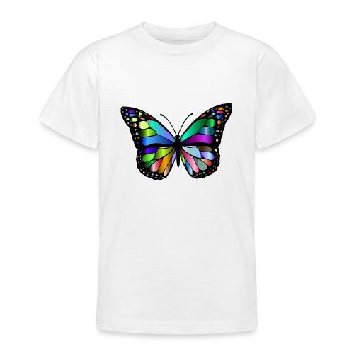 Kolorwy Motyl - Koszulka młodzieżowa