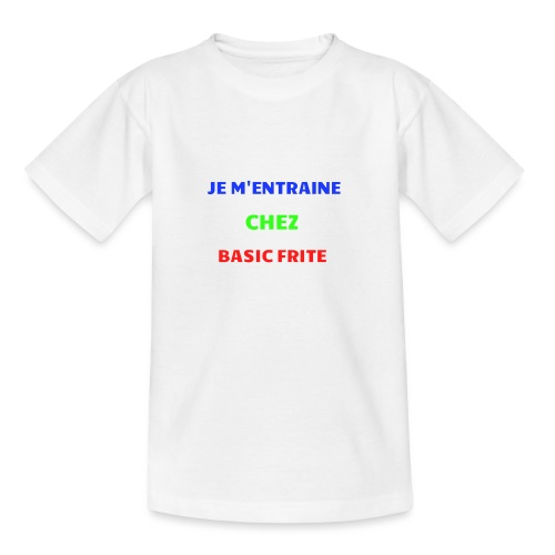 Basic Frite - T-shirt Ado