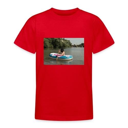Wir stammen vom Affen ab - Teenager T-Shirt