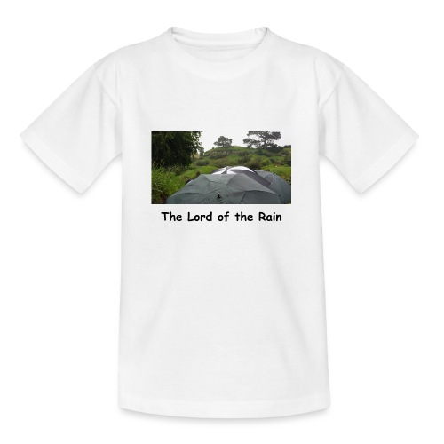 The Lord of the Rain - Neuseeland - Regenschirme - Teenager T-Shirt