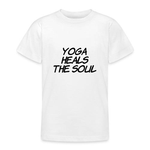 yoga - Teenager T-shirt