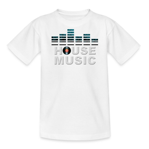 HOUSE MUSIC - Teenage T-Shirt