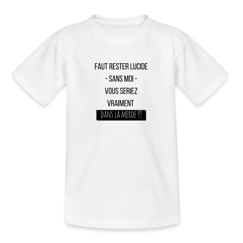 Je suis indispensable !!! - T-shirt Ado