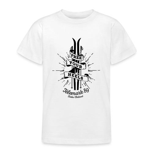 FreeYourHeels_merge - Nuorten t-paita