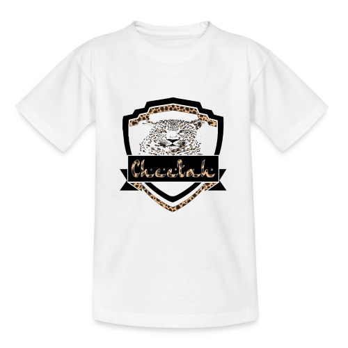 Cheetah Shield - Teenage T-Shirt