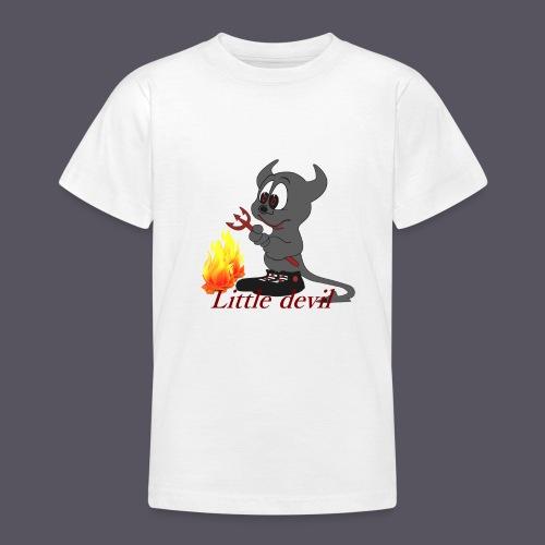 lustiges Teufelchen Little devil - Teenager T-Shirt
