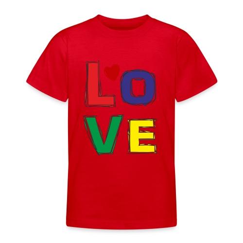 LOVE - Teenager T-Shirt