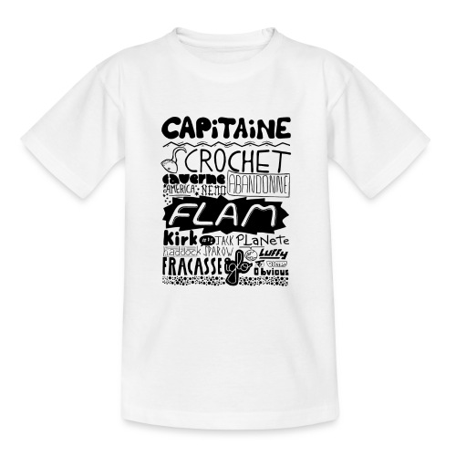 capitaine - T-shirt Ado