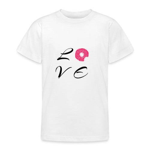 Donut Love - Teenager T-Shirt