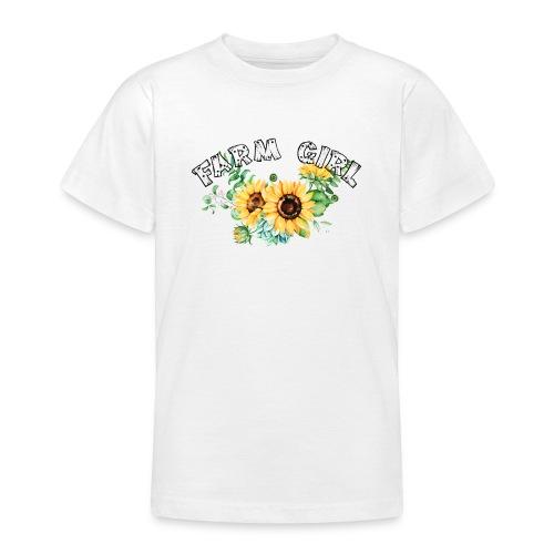 Farm Girl - Teenage T-Shirt