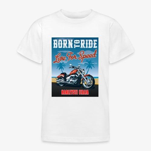 Summer 2021 - Born to ride - Maglietta per ragazzi