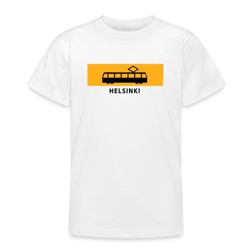 RATIKKA PYSÄKKI HELSINKI T-paidat ja lahjatuotteet - Nuorten t-paita