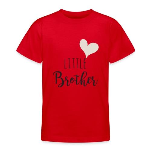 Little brother herz - Teenager T-Shirt
