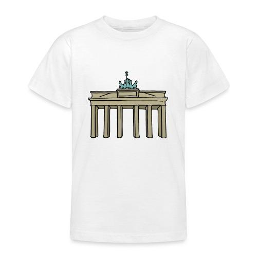 Berlin Brandenburger Tor - Teenager T-Shirt