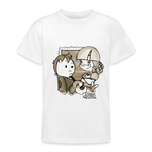 Foto Alfred y Agatha 1 - Camiseta adolescente