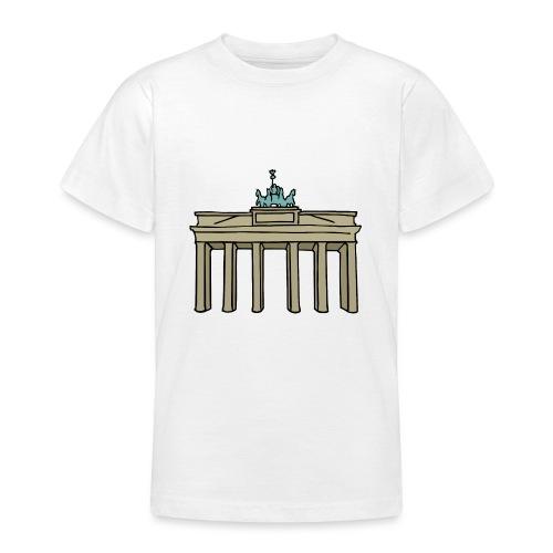 Porta di Brandeburgo a BERLINO c - Maglietta per ragazzi