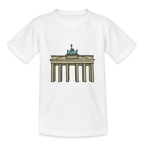 Porte de Brandebourg BERLIN c - T-shirt Ado
