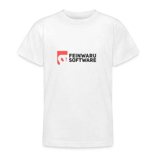 Feinwaru Full Logo - Teenage T-Shirt