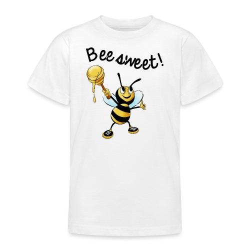 Bees7-2 Bienen sind süß | save the bees - Teenage T-Shirt