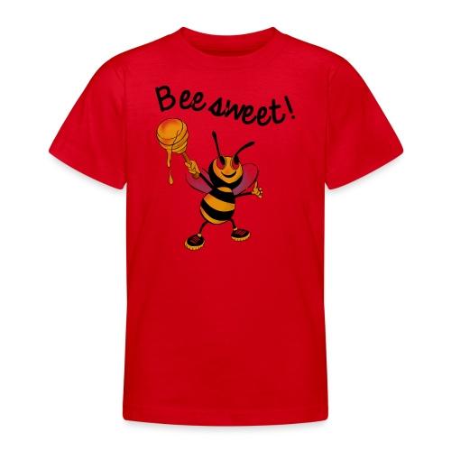 Bees7-2 Bienen sind süß   save the bees - Teenage T-Shirt