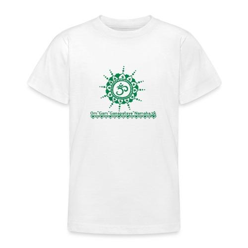 Ganesha Mantra OM Symbol Yoga Tshirt Hoodie - Teenager T-Shirt