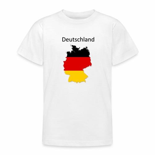 Deutschland Karte - Teenager T-Shirt