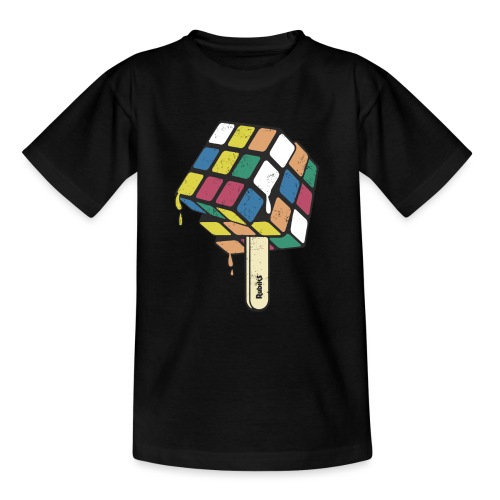 Rubik's Cube Ice Lolly - Teenage T-Shirt