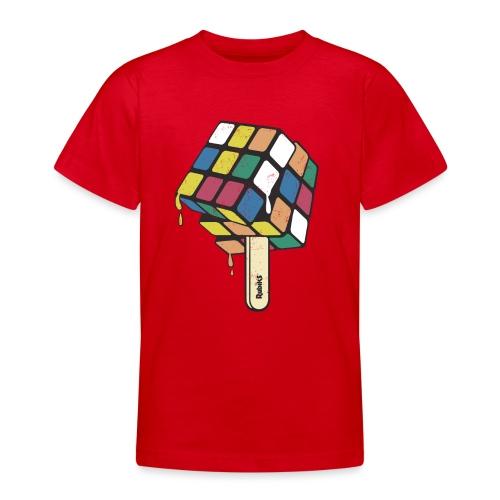 Rubik's Cube Ice Lolly - Teenage T-Shirt