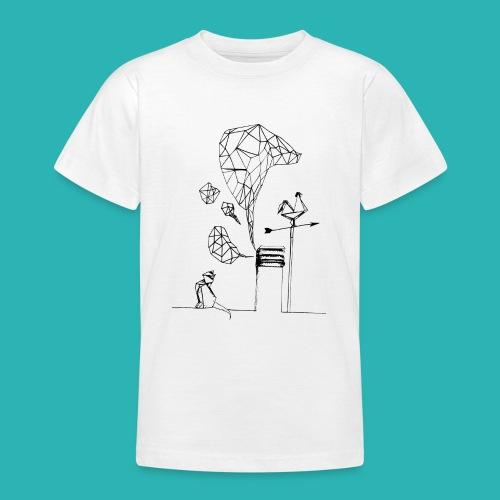 Carta_gatta-png - Maglietta per ragazzi