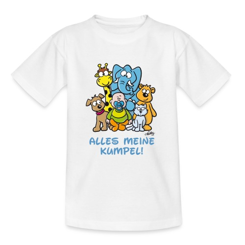Alles meine Kumpel - Teenager T-Shirt