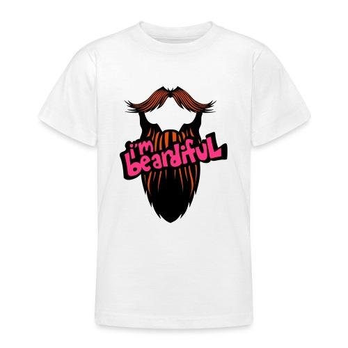 citation barbe i m beardiful barbu humou - T-shirt Ado