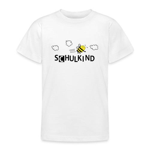Schulkind Biene - Teenager T-Shirt