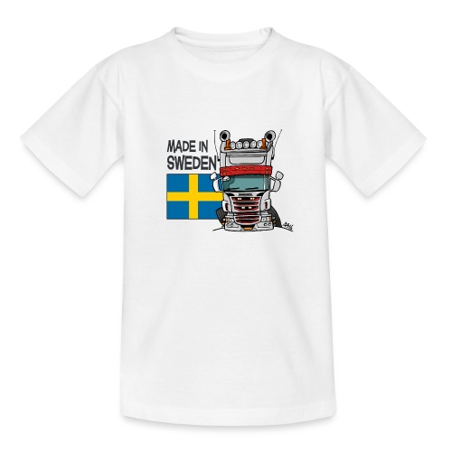 Made in Sweden - Teenager T-shirt