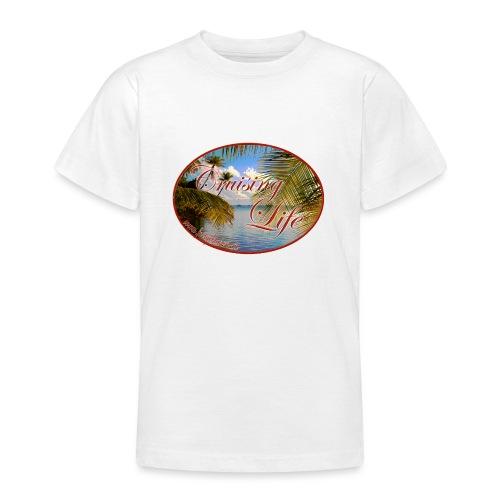 Segeln in der Südsee - Teenager T-Shirt