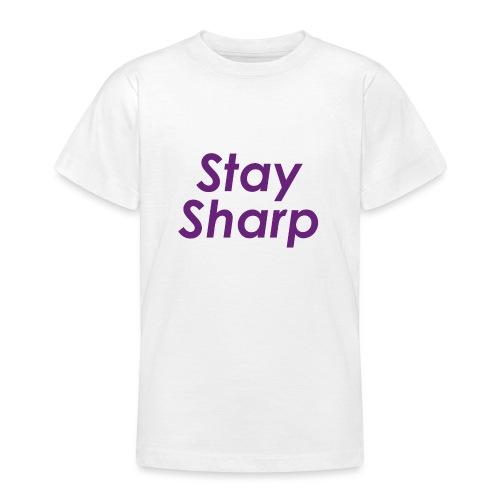 Stay Sharp - Maglietta per ragazzi