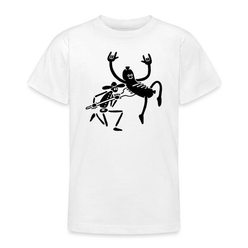 Wurst und Kauboi - Teenager T-Shirt