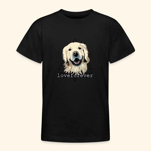 RETRIEVER LOVE FOREVER - Camiseta adolescente