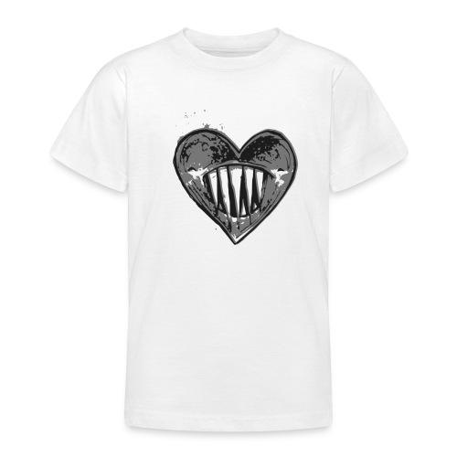 Corazón Negro - Camiseta adolescente