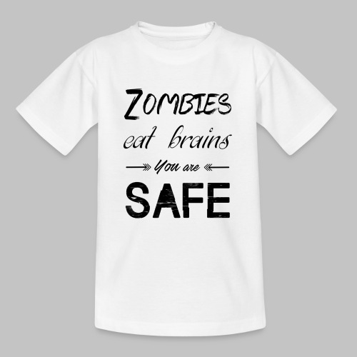 Brains - Teenage T-Shirt