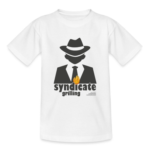 Syndicate Grilling - Mafia Grillshirt - Teenager T-Shirt