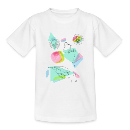 Frühlingshafter Garten - Teenager T-Shirt