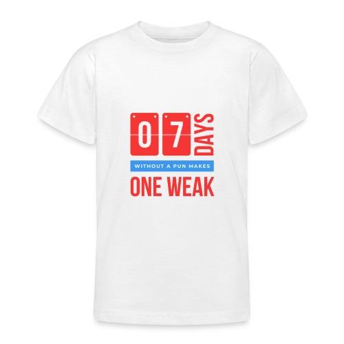 one week - Maglietta per ragazzi