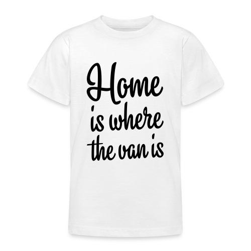 camperhome01b - T-skjorte for tenåringer